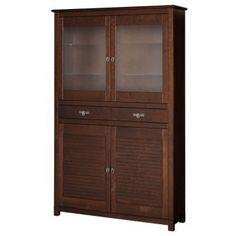 Witryna 4-drzwiowa z 2 szufladami CARACAS
