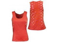 Fitness tílko REEBOK Radiant Top (lososová)