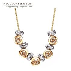 Find More Choker Necklaces Information about Neoglory Austria Rhinestone Fashion Chokers Necklaces Zinc Alloy Platinum Plated for Women Charm Jewelry Accessories 2014 New,High Quality Choker Necklaces from NEOGLORY JEWELRY on Aliexpress.com