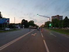Страшное дтп с участием мотоциклиста произошло 25 мая на ул. Октябрьской революции