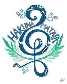 תוצאת תמונה עבור hakuna matata simbolo