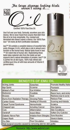 Life Style Change With Us: Total Life Changes Iaso Emu Oil