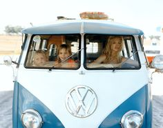 VW combi van - Family road trip