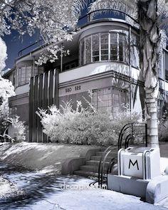 Art Deco Architecture : Popular during 1925-1940. #Architecture…