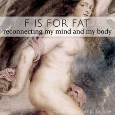 F is for Fat • #atoz
