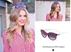 Bloggers choose TOUS!  SS15 sunglasses.  www.tous.com