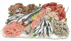 Miniature seafood