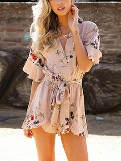 ba3318a9fb75c 7 Best Romper/Jumpsuit images | Dressy outfits, Overalls, Rompers women