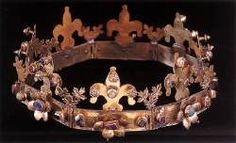 Funeral Crown  13th century Gilt silver with precious stones Hungarian National Museum, Budapest