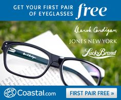 5a55816e379 Coastal Contacts  Get a pair of prescription glasses for just  15 shipped ·  Free GlassesMoney Saving ...