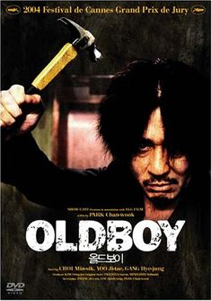 Old Boy. What a badass revenge film Movies 2014, All Movies, Scary Movies, Movies And Tv Shows, Cinema Film, Cinema Posters, Movie Posters, Love Movie, I Movie