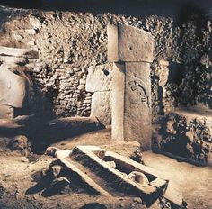 """Göbekli Tepe is the oldest human-made place of worship yet discovered. At present, Göbekli Tepe raises more questions for archaeology and prehistory than it answers. We do not know how a force large enough to construct, augment, and maintain such a substantial complex was mobilized and paid or fed in the conditions of pre-Neolithic society. We cannot """"read"""" the pictograms, and do not know for certain what meaning the animal reliefs had for visitors to the site."""