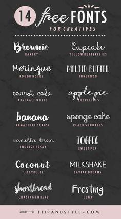 14 tipografías gratis by essie