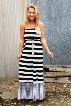Perfect Stripe Maxi