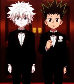 Killua & Gon from Hunter X Hunter anime artYou can find Hunter x hunter and more on our website.Killua & Gon from Hunter X Hunter anime art Killua, Hisoka, Hunter X Hunter, Hunter Anime, Monster Hunter, Chica Anime Manga, Anime Guys, Anime Art, Manga Girl