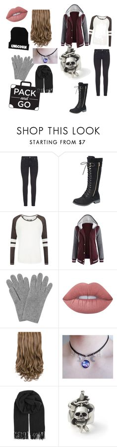 """Pack and Go"" by musiclixclan ❤ liked on Polyvore featuring Paige Denim, Superdry, L.K.Bennett, Lime Crime and BeckSöndergaard"