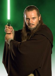 Qui-Gon Jin: To me, he was the embodiment of how a Jedi should behave, in relation to the Force.