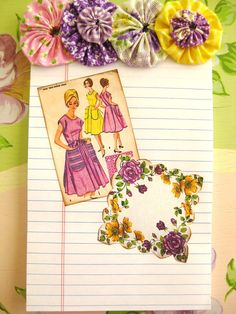 The Beehive Cottage: Busy Bee Paper Crafting! yoyo pads