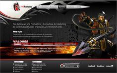Diseño y desarrollo de website.