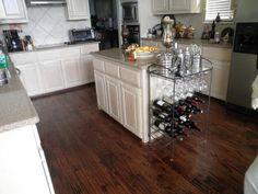 hardwood floor kitchen - Google Search