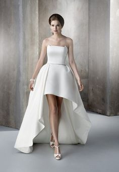 Beautiful High Low Ball Gown