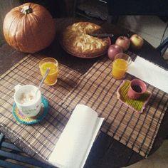 Breakfast fall