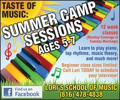 Want your kids to learn an instrument?? Loris School of Music is the perfect place!!  // For more family resources visit www.ifamilykc.com! :)