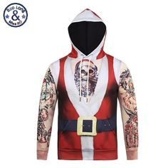 77bc0441229a Aliexpress.com   Buy Hoodies Sweatshirt Women Men Christmas Trees 3D Santa  Claus Printed Kawaii Happy Funny Tracksuit Assassins Creed Suit outwear  from ...