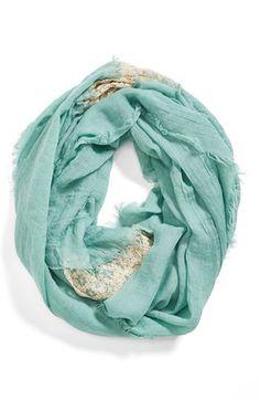 Crochet infinity scarf in #mint http://rstyle.me/n/g84nknyg6