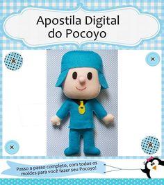 Apostila Digital do Pocoyo - À venda no Facebook Dona Penguim