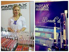 #ParisaxProfessional la Romexpo #makeup #beauty #parisax Good Things, Paris, Coat, Makeup, How To Make, Beauty, Fashion, Maquillaje, Beleza