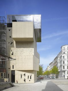 Museum for architectural drawings of the S.Tchoban Foundation by SPEECH as Architects