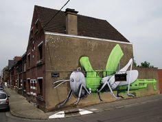 Ludo in Belgium + Birmingham - unurth |#streetart #art