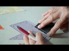 Jinny Beyer's Perfect Piecer - se god video på YouTube om brugen af denne. Helene Juul Design forhandler dette smarte værktøj.
