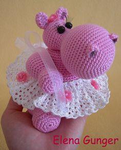 Hippo in a tutu