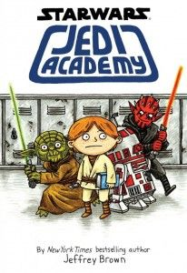 Star Wars Jedi Academy by Jeffrey Brown. Looks like a fun read for the summer for Star War fans. Review from 100 Scope Notes.