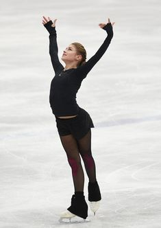 Russian Figure Skater, Figure Skating Outfits, Medvedeva, Ice Skaters, Ice Dance, European Championships, Sports Figures, Gymnastics, Athlete