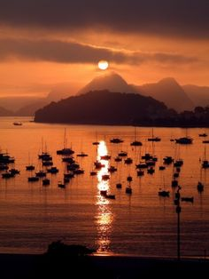 Sunset-in-Rio-Brazil-by-Alan-Seabra