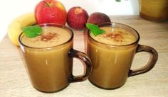 Ovocné smoothie Moscow Mule Mugs, Smoothies, Detox, Tableware, Desserts, Food, Smoothie, Tailgate Desserts, Dinnerware