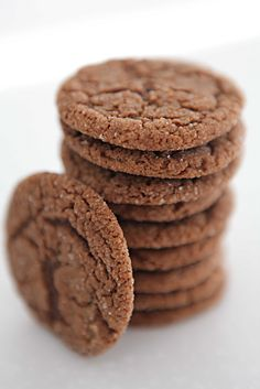 chewy molasses-spice cookies  Number 1 of the 3 recipes per week!    Determined to try everything on my food boards this year :-)