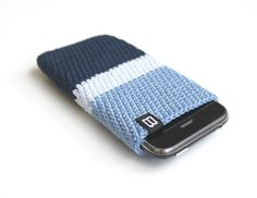 iPhone 5 4 3GS case unisex marine blue / by BelleAccessoires, €16.90