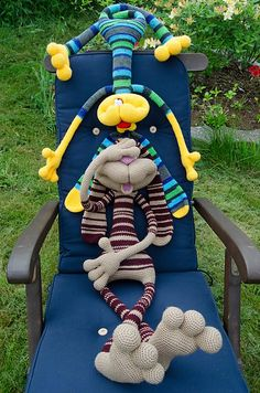 Revelry: Sabax's Dude rabbit 121 Rabbit dude crochet pattern from LittleOwlsHut…