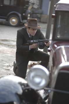 "TIMELESS -- ""Last Ride of Bonnie & Clyde"" Episode 108 -- Pictured: Goran Visnjic as Garcia Flynn -- (Photo by: Sergei Bachlakov/NBC)"