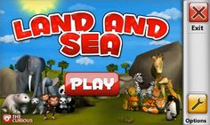 """Play the """"Land and Sea"""" L1 #app to help build social skills"""