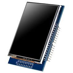 UNO R3 2.8 TFT Touch Screen with SD Card Socket for Arduino Board Module Foxnovo http://www.amazon.com/dp/B00UAA2XIC/ref=cm_sw_r_pi_dp_F7hUwb13WZHDZ