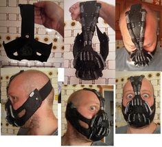 Bane costume diy halloween costumes pinterest bane costume the dark knight rises bane mask maschera il cavaliere oscuro il ritorno solutioingenieria Gallery