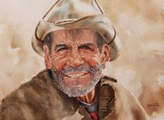 Manuel Garcia Rodriguez -  #Watercolor #Spanish #painter