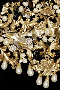 Dolce and Gabbana Embellishment Details