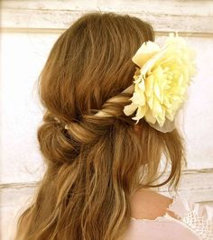 Greek free-flowing hair with headband :: one1lady.com :: #hair #hairs #hairstyle #hairstyles