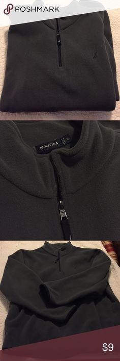 Men's Nautica fleece Half zip gray Men's Nautica fleece. Great condition. Nautica Jackets & Coats